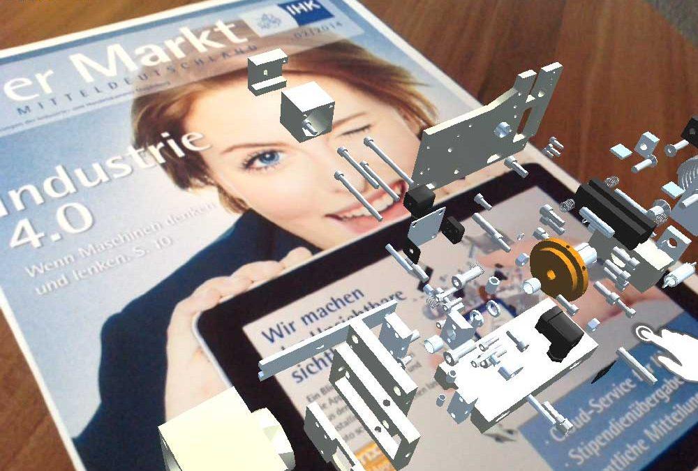IHK-Magazin mit virtuellen Inhalten