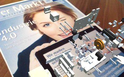 Augmented Reality wertet Ihre Druckerzeugnisse auf.