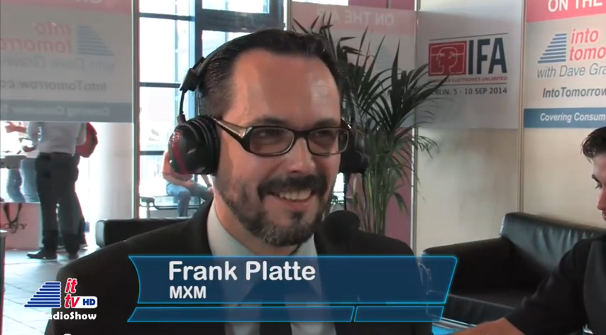 "IFA 2014: MXM goes ""Into Tomorrow"""