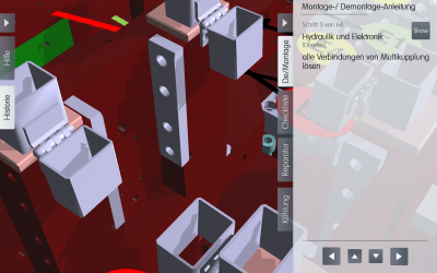 MX Maintenance – Wartungstool mit Augmented Reality Funktion