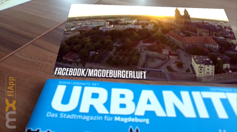 Oktoberheft der urbanite mit virtuellen Inhalten